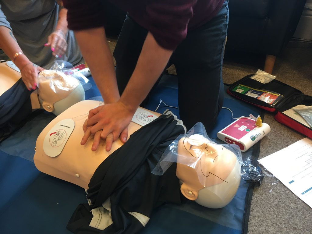 First Aid at Work - CPR